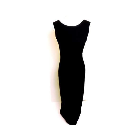 Bianca Nero Dresses | Vintage Backless Black Gown | Poshmark